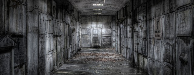 Diep verscholen onder een kerkhof ligt de op instorten staande Crypte de L. Zoals je van een crypte mag verwachten vonden we hier ook uitsluitend graven. Zéér oude graven, dat […]