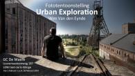 Na het succes van mijn eerste tentoonstelling over urban exploration kan ik met trots de tweede aankondigen. Van 1 februari tot en met 28 februari 2014 kan u in Gemeenschapscentrum […]